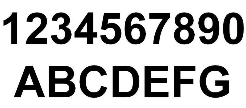 Frisk Selvklæbende bogstaver - Alexey SE-74